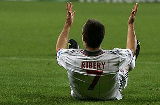 Franck Ribery con el Bayern