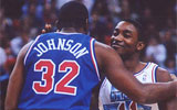 Isiah Thomas y Magic Johnson
