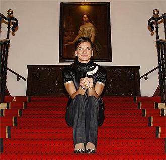 Isinbayeva posa para MARCA