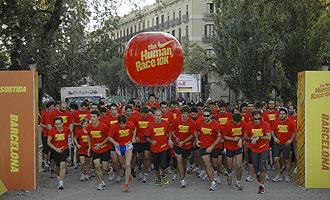 Salida de una de las pruebas disputadas en Barcelona