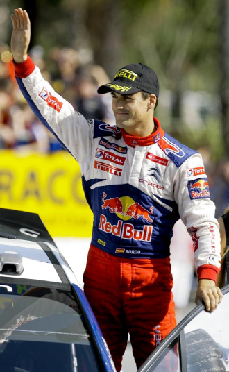 El piloto espa�ol Dani Sordo.