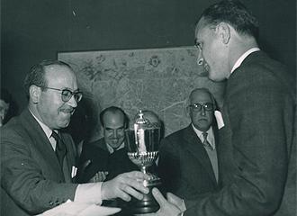Di Stéfano logró cinco Pichichis en los años 50