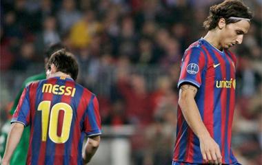 Messi e Ibrahimovic