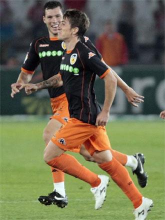 Pablo Hernández marcó uno de los goles de la Liga en Almería