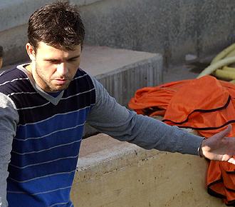 Gabino Marin, el m�dico del Albacete que salv� la vida a un turista alem�n en el vuelo de regreso de Las Palmas