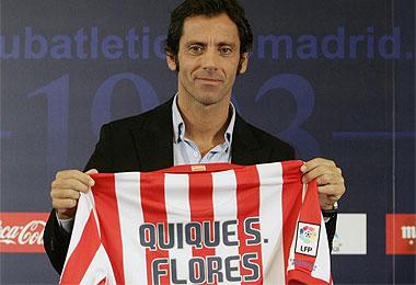 Quique Sánchez Flores, en el Calderón