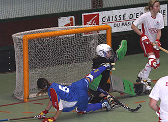 Acci�n del partido entre Espa�a e Inglaterra.