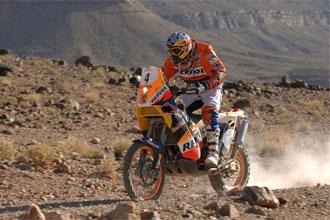 Marc Coma, en el Rally de Marruecos.