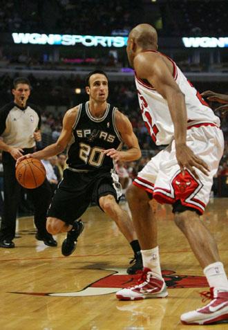Manu Ginóbili, extranjero de calidad de los Spurs