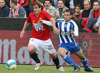 Lance del �ltimo partido que disputaron ambos equipos y que fue en Primera, en la campa�a 06/07.