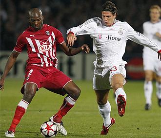 Imagen del pasado Girondins-Bayern