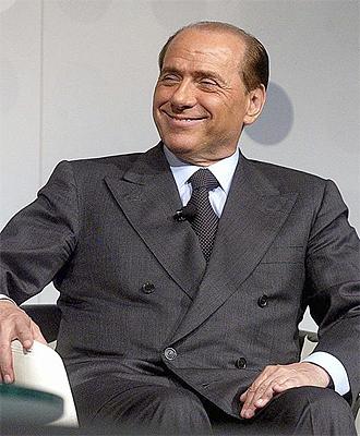 Silvio Berlusconi, dueño del Milan, en una imagen de archivo