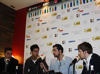 Imagen de Alberto Bueno durante el programa en Radio MARCA