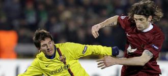 Rubin Kazan 0-0 Barcelona