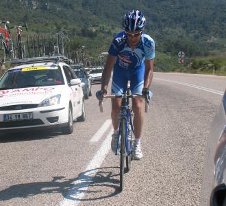 Fernández de la Puebla, en el Tour de Turquía