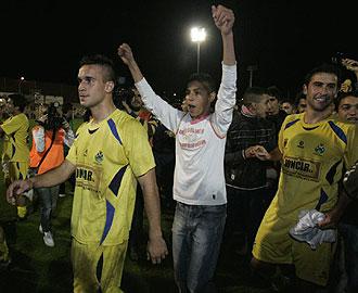 Fiesta en Alcorc�n tras el 4-0
