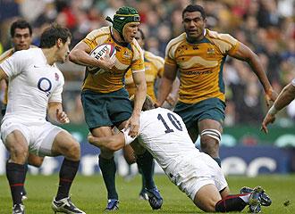 Australia remontó el encuentro en la reanudación