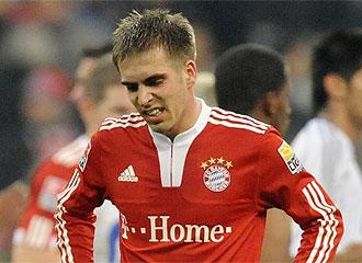 Lahm es uno de los capitanes del Bayern.