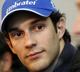 Bruno Senna durante la presentaci�n del Campos Meta.