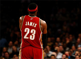James, con el '23'