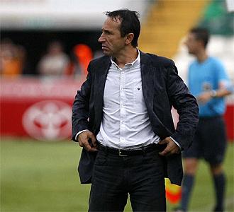 Juan Carlos Oliva durante un partido.