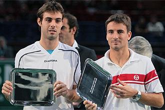 Granollers y Robredo recogen su trofeo