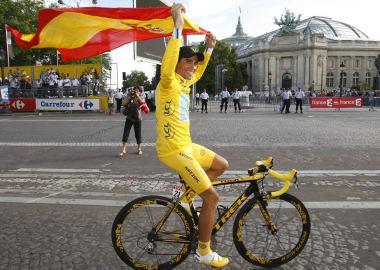 Trek celebró con una bicicleta especial la última victoria de Contador en el Tour