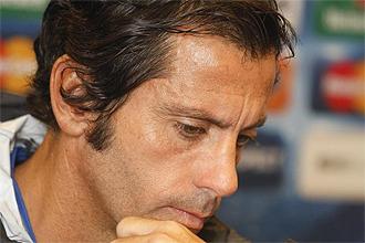 Quique Sánchez Flores, entrenador del Atlético de Madrid, en una imagen de archivo