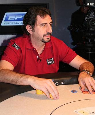 Santiago Terrazas, en una partida