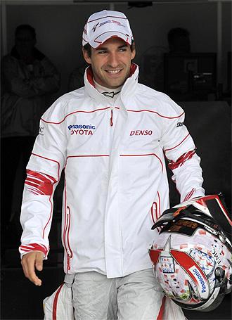 El piloto alemán Timo Glock.