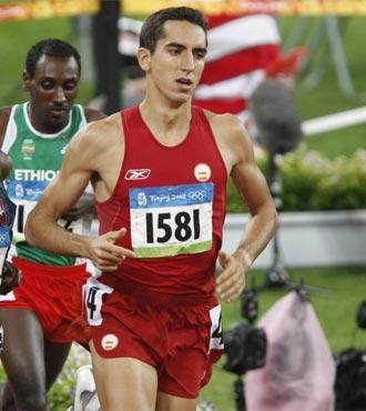 Arturo Casado durante los Juegos Ol�mpicos de Pek�n 2008