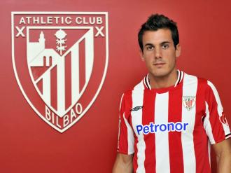 El jugador del Athletic Xabi Castillo.