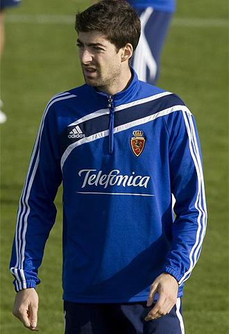 Arizmendi se ejercita con el Zaragoza