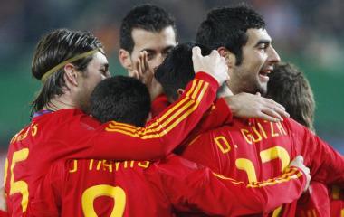 Austria 1-5 España