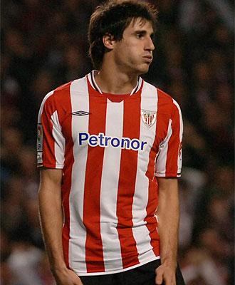 Javi Martínez, durante un partido con el Athletic, en una imagen de archivo