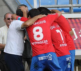 El Numancia, que recupera a su capit�n Palacios, quiere volver a celebrar una victoria... cinco jornadas despu�s