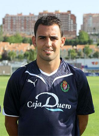 El jugador del Real Valladolid, Nauzet Alemán.