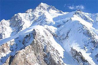 Imagen del K2, la segunda monta�a m�s alta del mundo con 8.611 metros.