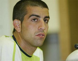 Juanito, durante una rueda de prensa.