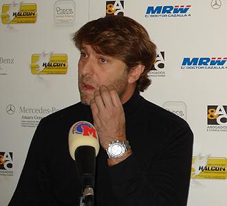 Carlos Suárez ante los micrófonos de MARCA