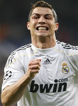 Cristiano Ronaldo, en el partido ante el Z�rich.