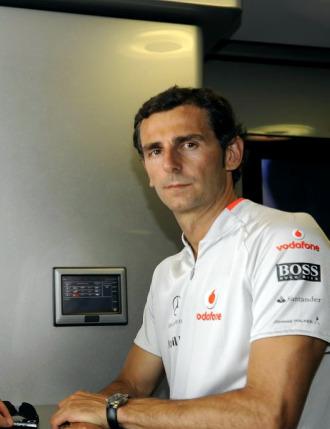 El piloto español Pedro de la Rosa.