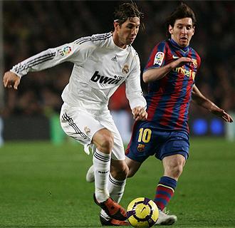 Ramos, junto a Messi