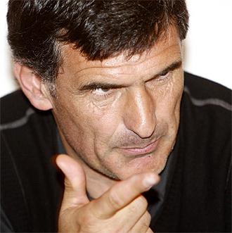 El técnico del Valladolid, José Luis Mendilibar.