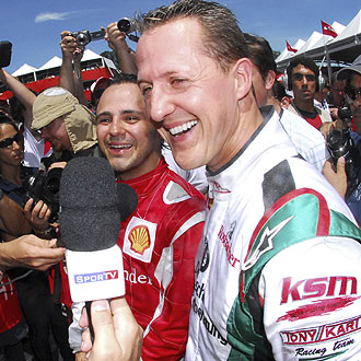 Michael Schumacher no descarta regresar a la Fórmula 1