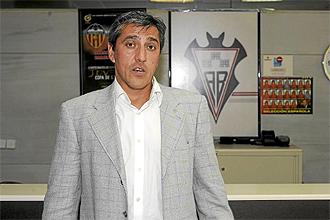 El ya ex t�cnico del Albacete Pepe Murcia.