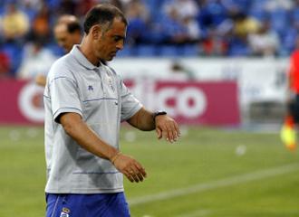 Javi López, durante un partido