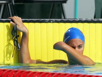 Sarai Gascón, oro y récord del mundo.