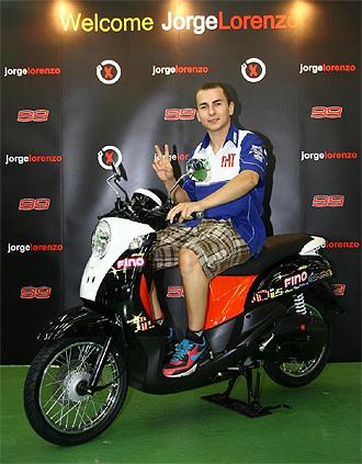 Jorge Lorenzo, en Indonesia