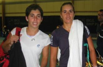 Carla Suárez y Anabel Medina, en una imagen de archivo.